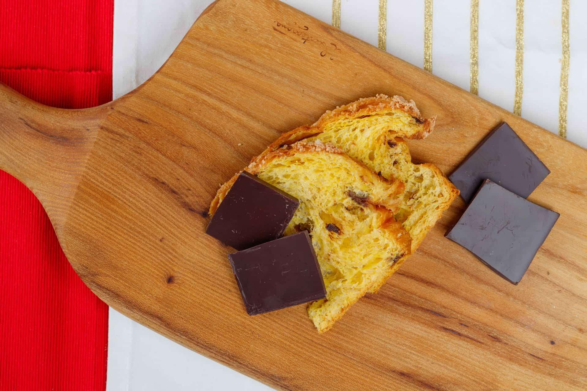 Panettone e cioccolata 01